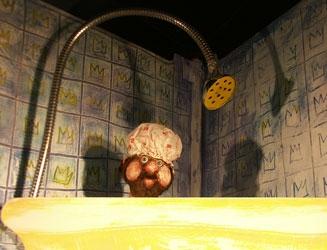 Der kleine Teufel und die Pfannkuchen - Figurenspiel Steffi Lampe