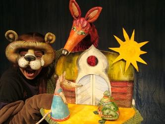 Tierhäuschen - Figurenspiel Steffi Lampe