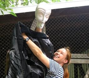 Workshop Masken - Figurenspiel Steffi Lampe