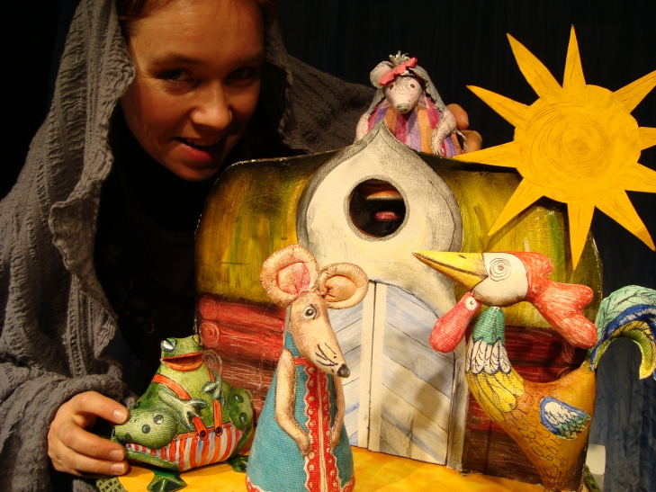 Tierhäuschen 1 - Figurenspiel Steffi Lampe