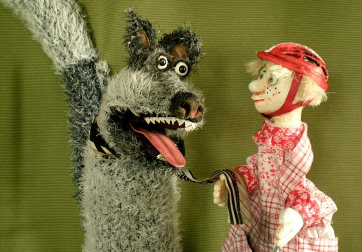 Rotkäppchen - Figurenspiel Steffi Lampe