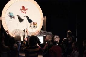 Die Grille und die Ameisen - Figurenspiel Steffi Lampe
