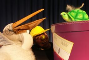 Der Geburtstag der kleinen Schildkröte - Figurenspiel Steffi Lampe